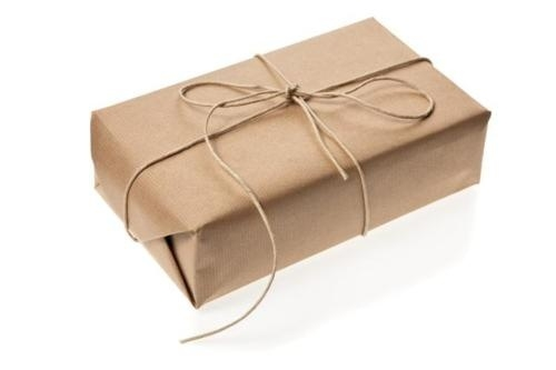 Brown Paper Wrap with String Ribbon