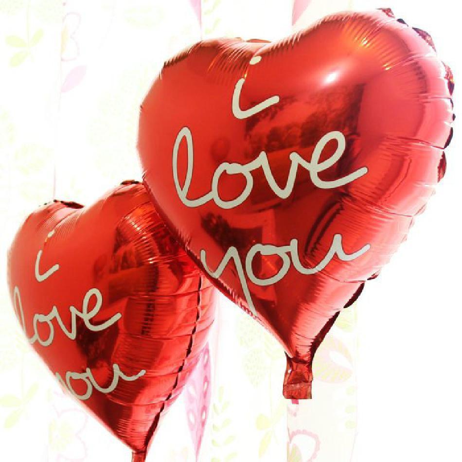 Love Foil Balloons     بالونه (احبك) من القصدير