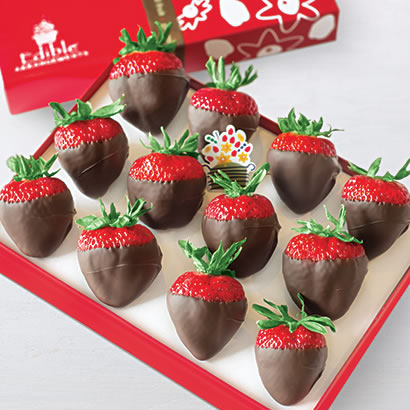 Chocolate Dipped Strawberries Box
