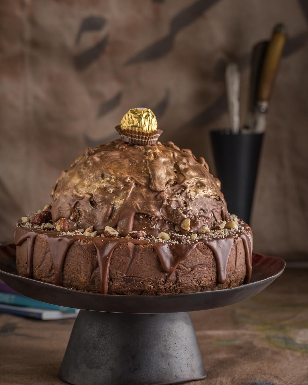 The Ferrero Rocher Cheese Cake
