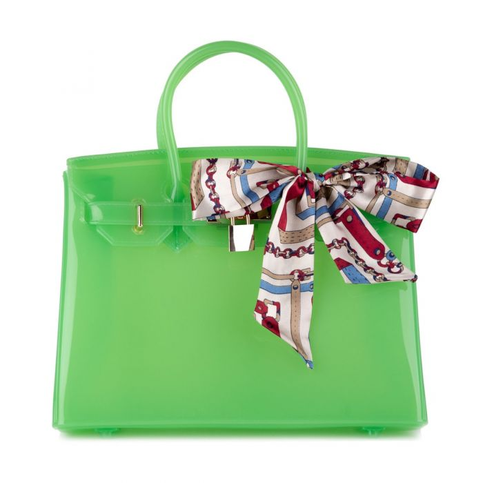 Lime Green Bag