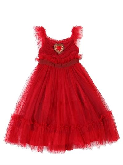 STRETCH TULLE PARTY DRESS (3-6 Years)