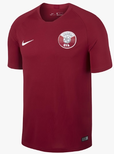 Authentic Qatar Football Jersey