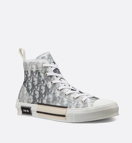 891e40d6 B23 HIGH-TOP SNEAKERS IN DIOR OBLIQUE