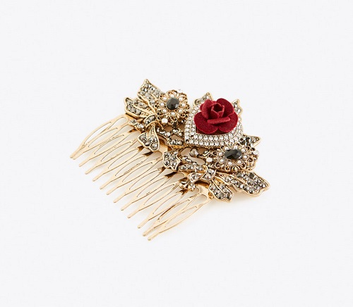 EMBELLISHED ORNAMENTAL COMB
