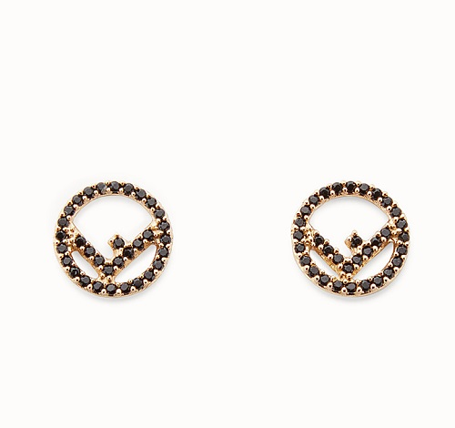 F IS FENDI EARRINGS