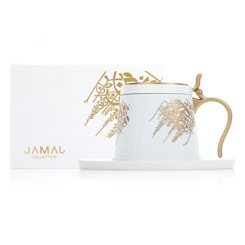 Jamal Incense Burner - White