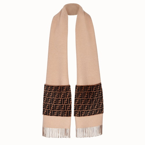 TOUCH OF FUR SCARF