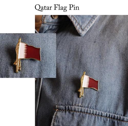 QATAR FLAG PIN