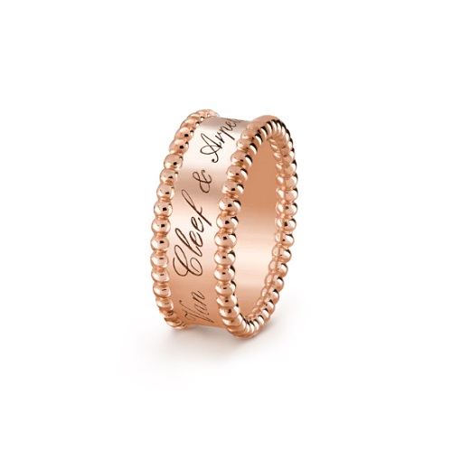 The Perlée™ Rose Gold Ring