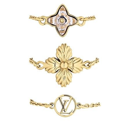 BLOOMING STRASS RINGS SET